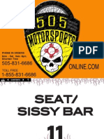 Seats / Sissy Bar