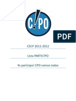 PARTICIPO CPO UDP 2011-2012