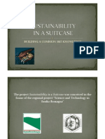 Sustainability in a Suitcase