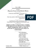 Public Citizen POGOPIRG Consumer Action Amicus Brief