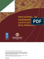 Indicadores de Gobernabilidad Democratic A PARAGUAYA