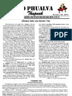 Zo Phualva Thupuak - Volume 01, Issue 15