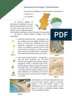Jazidas de Dinossáurios em Portugal