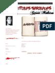 Blog Escrituras Sangradas