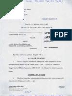 Douglas v Keno Trademark Complaint