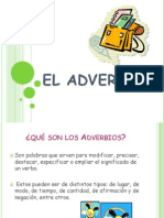 Los adverbios 5º
