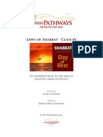 Laws of Shabbath
