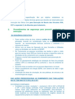 PROCEDIMENTOS DE SEGURANÇA PARA ASSENTAMENTO DAS COMPORTAS ok