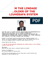 Lineage Holder of Liuhebafa