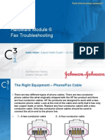 Hardware Module 6 - Fax Troubleshooting