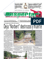 Edicion 13 de octubre del 2008