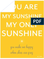 You Are My Sunshine FINAL 8x10