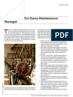 Key Questions for Every Maintenance Manager