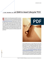 EAM and Asset Lifecycle TCO