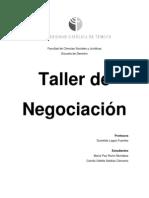 Taller de Negociación