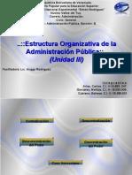 Estructura Organizativa de La Adm