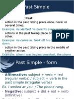 Verb Tenses - Past