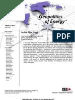 Geopolitics of Energy - July 2011 (CERI Canada)