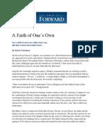 A Faith of One