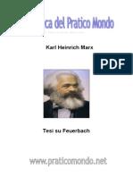 Tesi Su Feuerbach