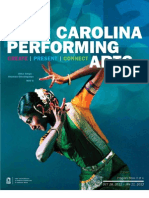 Carolina Performing Arts Program Book Oct 2011 - Jan 2012
