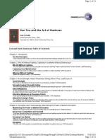 SunTzu and the Art of Business