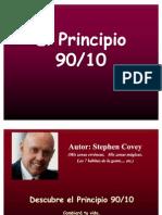 El principio 90 - 10