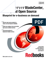 IBM Blade Center, Linux, And Open Source Blueprint for E-business on Demand