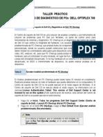 TALLER  PRÁCTICO HERRAMIENTAS DE DIAGNOSTICO OPTIPLEX 780