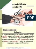 Presión arterial fundamento