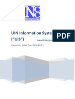 29-07-2011 - FAQ of UIN Information System