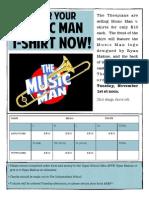 Music Man Order Form