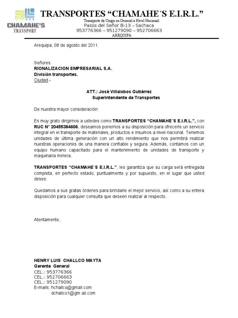 Hermosa Carta De Presentación Del Operador De Equipo Pesado Friso ...