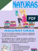 Asignaturas