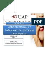 pia en Tratamiento de Infecciones Odontogenicas