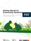 Getting Started In Community Gardening