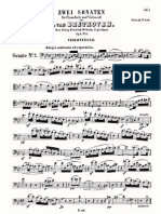 Beethoven Cello Sonata 2 Cello 2