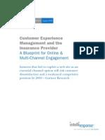 IntelliResponse White Paper - Customer Experience and Insurance Providers