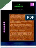 DOS Variables