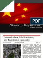 China and Its Neighbor COPICO