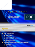 Edge Security With Forefront