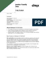 Releasenotes 5.7 100603