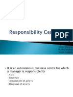 Responsibility Centre Mcs