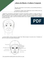 Fisiognomonia - Leitura Do Rosto e Leitura Corporal