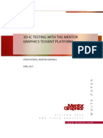 3d-Ic Testing With the Mentor Graphics Tessent Platform