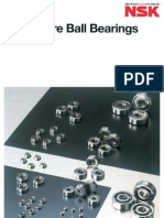 Nsk Bearings-general Catalogs