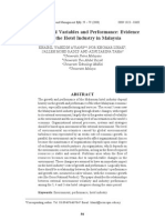 Environmental Variables and Performance