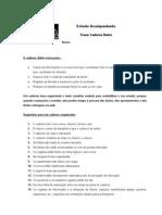 Caderno Diário - Ficha