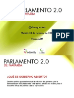 "Parlamento de Navarra 2.0 en ""Héroes del Social Media"""