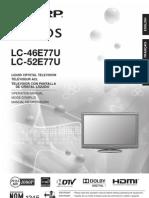 Sharp Lc 52e77u Manual